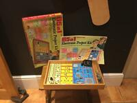 Vintage game electronic project kit toy collectors item
