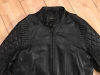 Non leather jacket