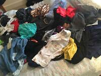 Huge bundle woman's clothes size 8