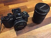 Olympus OM-D-10 twin lens camera
