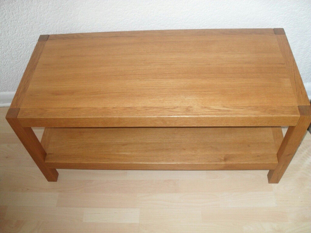 Laura Ashley Brompton Solid Oak Coffee Table Rrp600in Feltham London