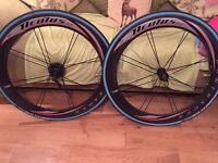 Full Carbon Bontrager Aeolus Wheels