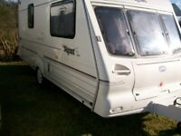 bailley pagaent 2 berth motor mover full awning great condition