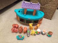 Baby Toddler Toy Bundle. Cars, puzzle, ball run.