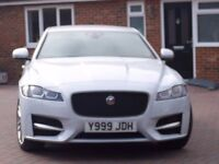 2016 Jaguar XF R-Sport D Auto 2.0L one owner only 2600 miles with many extras - Showroom condition!