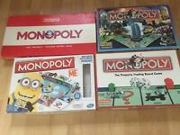 4 Monopoly Games