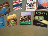 8 miscellaneous children's books.