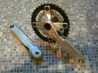 SRAM x5 crankset ( crank bolt missing )