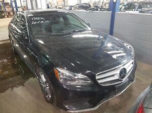 2014 Mercedes-Benz E350 4matic Sedan Premium Package, Advanced D