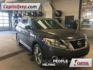 2014 Nissan Pathfinder | Platinum | 4WD | Leather | Heated Seats