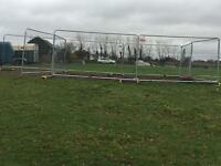 Security fencing pen