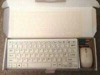 Mini Wireless Keyboard & Mouse (2.4Ghz)