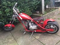 150 cc chopper custom made
