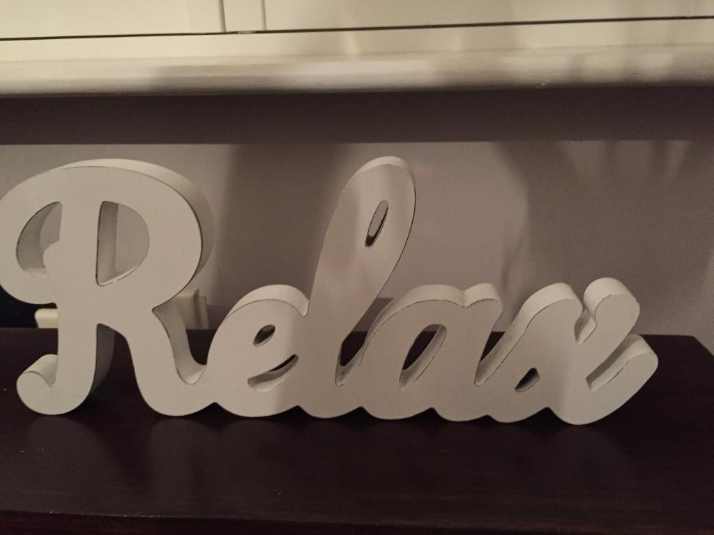 Bathroom Signs Relax relax bathroom sign from next | in southampton, hampshire | gumtree