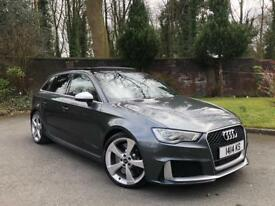 2016 MEGA SPEC AUDI RS3 2.5 QUATTRO GENUINE LOW MILEAGE PANO ROOF SPORTS EXHAUST SWAP GTR
