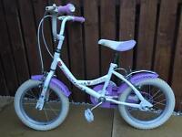 Girls 14 inch Townsend Sparkle girls bike