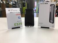 iPhone 6 16gb o2, tech 21 case, charge & warranty