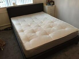 King Size bed with mattress *excellent condition