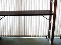SOLID COMBI LADDER / SCAFFOLD AND PLATFORM, USED ONCE
