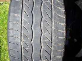 used car tyres verious sizes