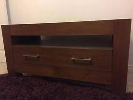TV/media unit in solid wood