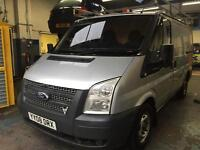 2008 FORD TRANSIT SWB T 260s FULL SEVICE HISTORY MOTED HPI CLEAR ROOF RACK £3000 PX