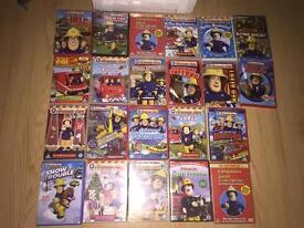 22 fireman Sam dvds