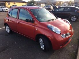 Nissan MICRA Acenta A | Petrol | 1.2 | Red | BEAUTIFUL DRIVE | FRESH ONE YEAR NEW MOT