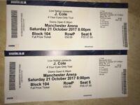 2x J.Cole tickets