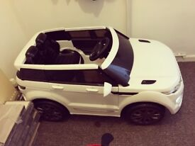 Kids Electric Range Rover Ride On Car