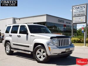 2011 Jeep Liberty Sport~Excellent Condition~Low Kms~