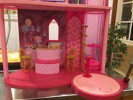 Barbie princess castle