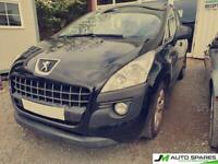 2012 Peugeot 3008 BREAKING PARTS SPARES ONLY