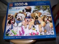 JIGSAW DEPICTING DOGS