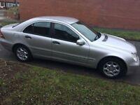 04 reg Mercedes-Benz C Class 1.8 C200 Kompressor Classic SE 4dr 2004 Quick sale £875