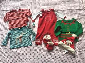 6 -9 month Christmas baby clothes