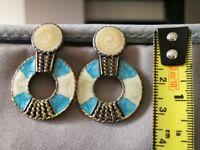 New Double Circle Earrings