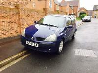Renault Clio, 2005, 1.1, 6 Months Mot, Full Electrics, All paperwork...