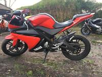YAMAHA YZF R 125 2010 REBUILT ENGINE WITH 0 MILES