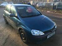 2001 vauxhall corsa 1.2 cheap px to clear