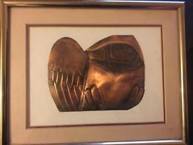 Limited Edition Bronze In Abstract An Owl Captured By Cameron Owls. £30
