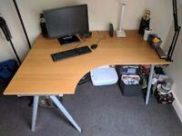 Corner Wooden Desk