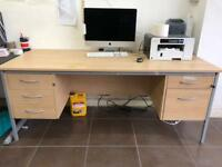 Computer office Desk with draws