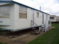 static caravan to hire rent let 3 bed 8 berth on sealands ingoldmells skegness