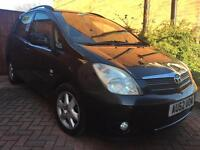Toyota Corolla Verso 1 owner from new