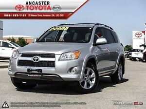 2012 Toyota RAV4 Limited WITH NAVIGATION AND ONLY 52594 KMS!!