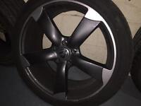 Audi S line wheels