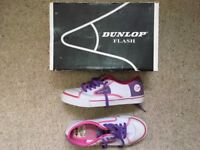Dunlop flash pink and purple size 5