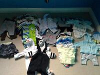 Baby boy clothing 0-12 Months