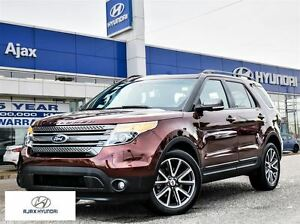 2015 Ford Explorer XLT 4WD Leather 7 Seats Appearance Package
